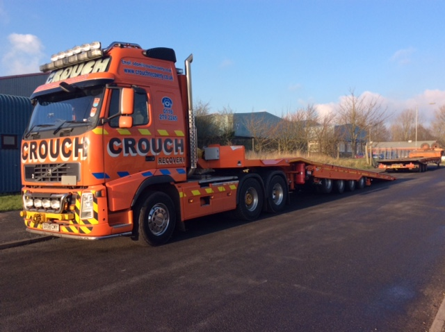 Crouch Choose 4 Axle Trailer