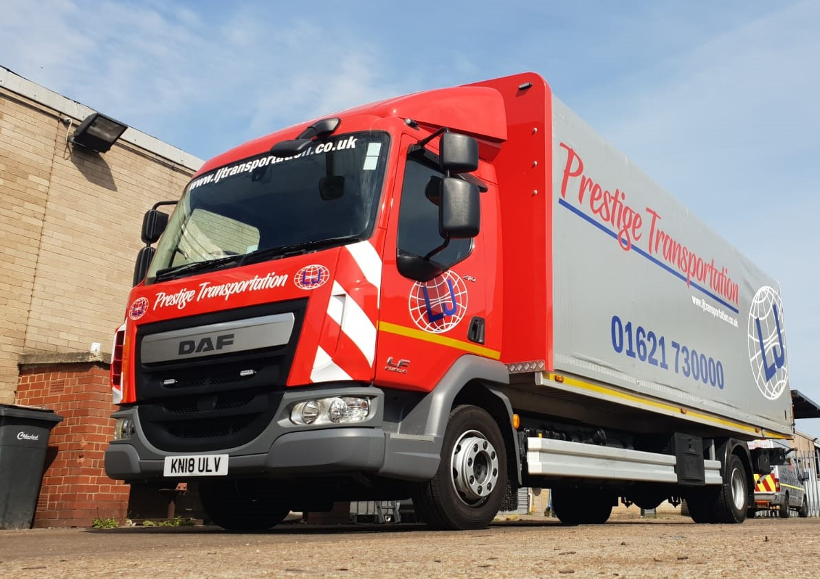 Boniface Delivers Latest Addition to LJ's Transportation Fleet