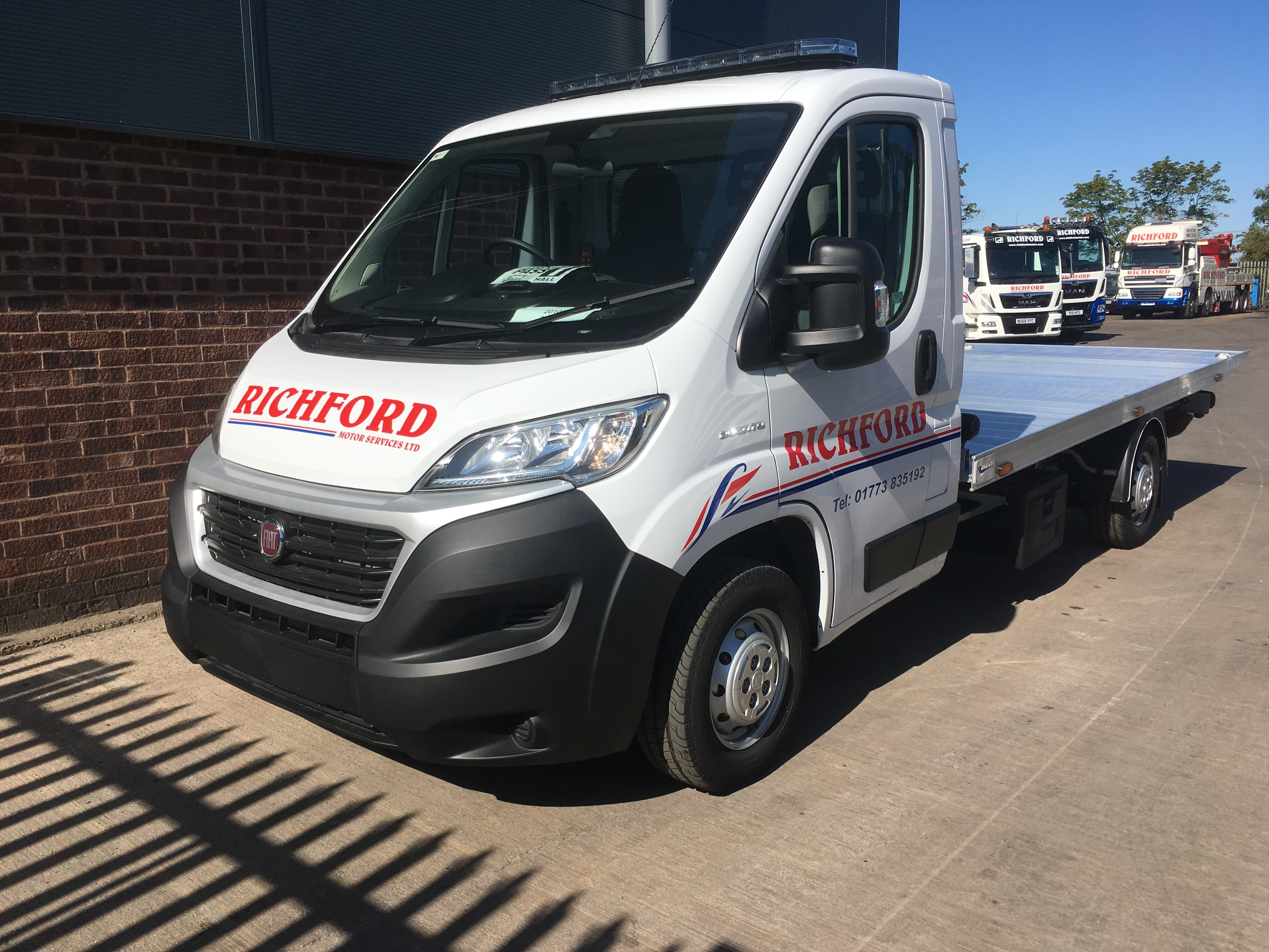 Boniface Supply Another T35 To Richford Motors