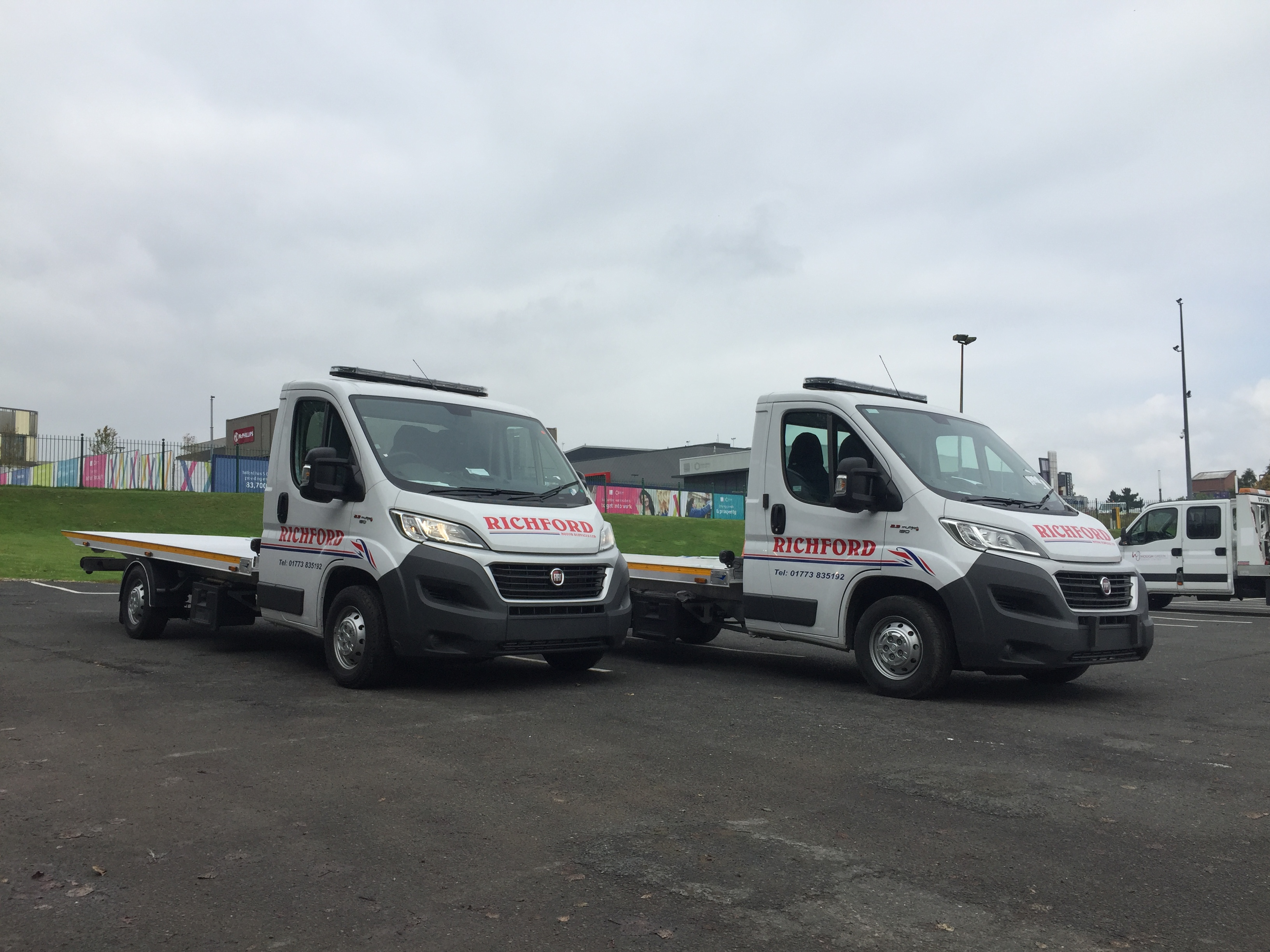 Expanding Boniface Fleet For Richford Motors