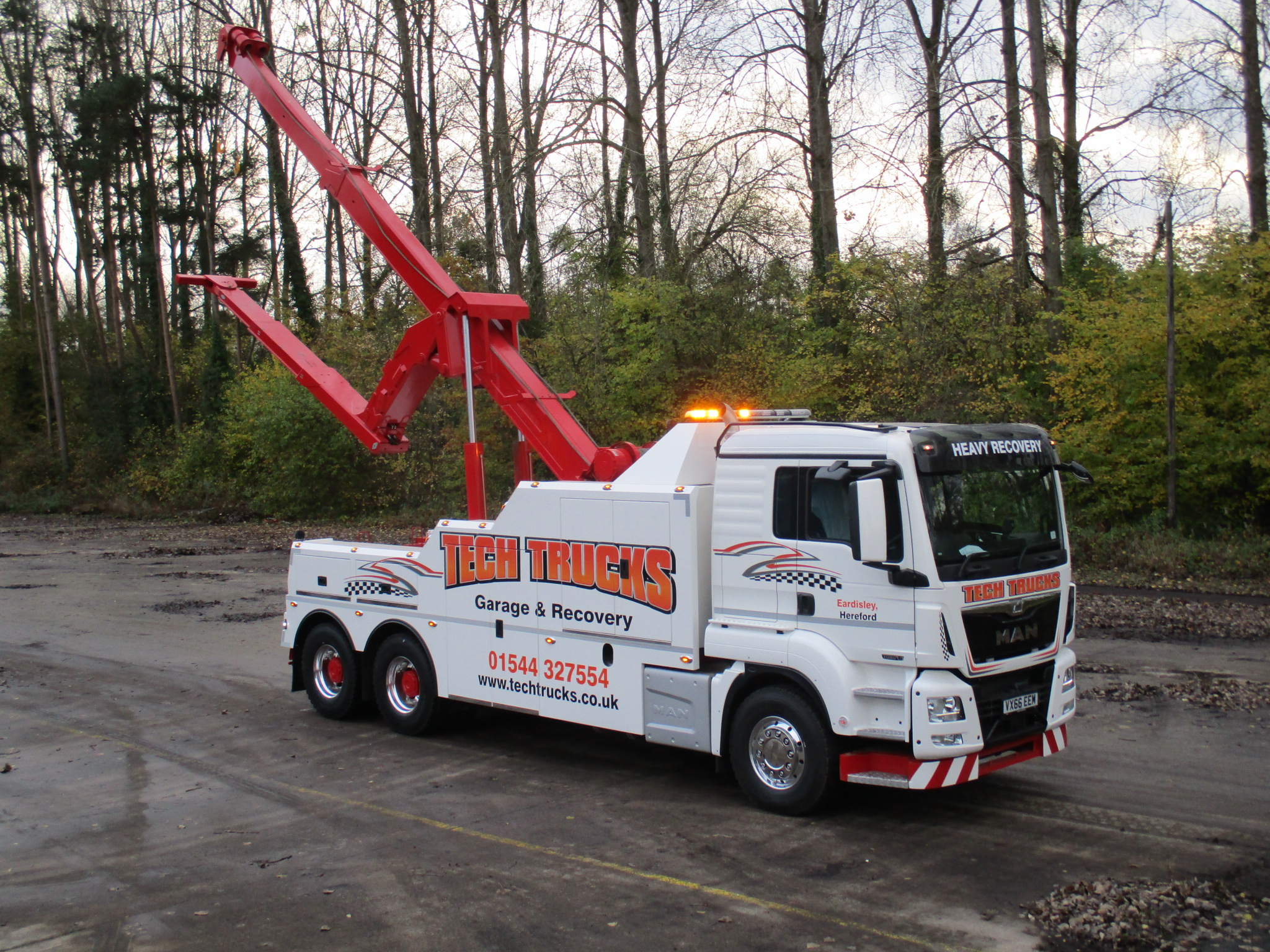 New Recoverer Trident For Tech Trucks