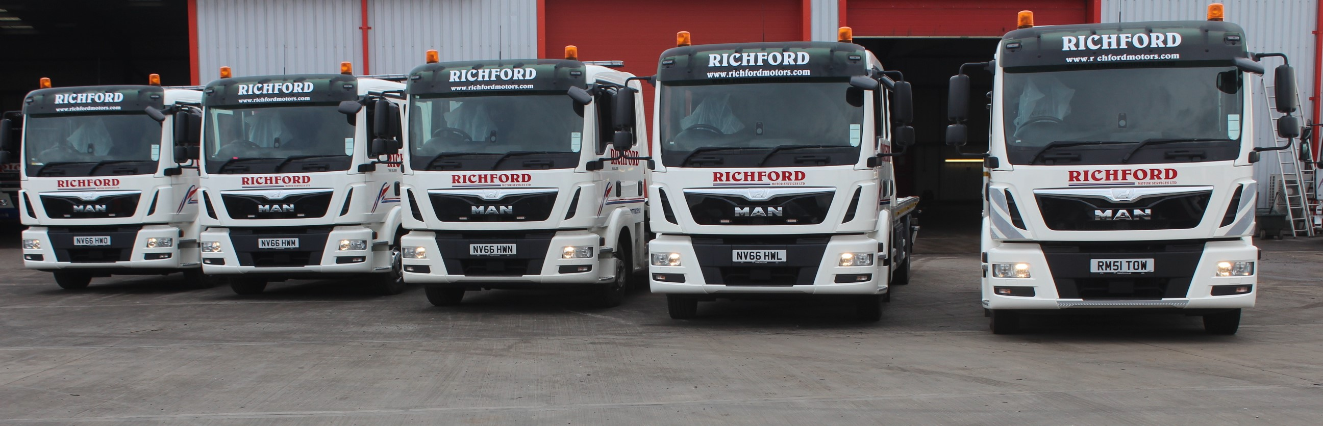 Boniface Deliver More New Vehicles for Richford Motor Services