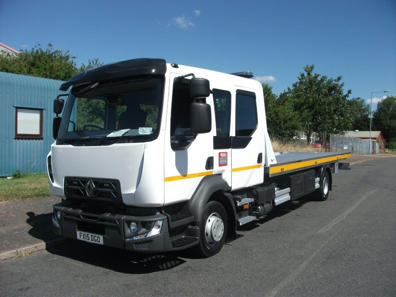 New stock New Renault Midlum 12t Crew cab