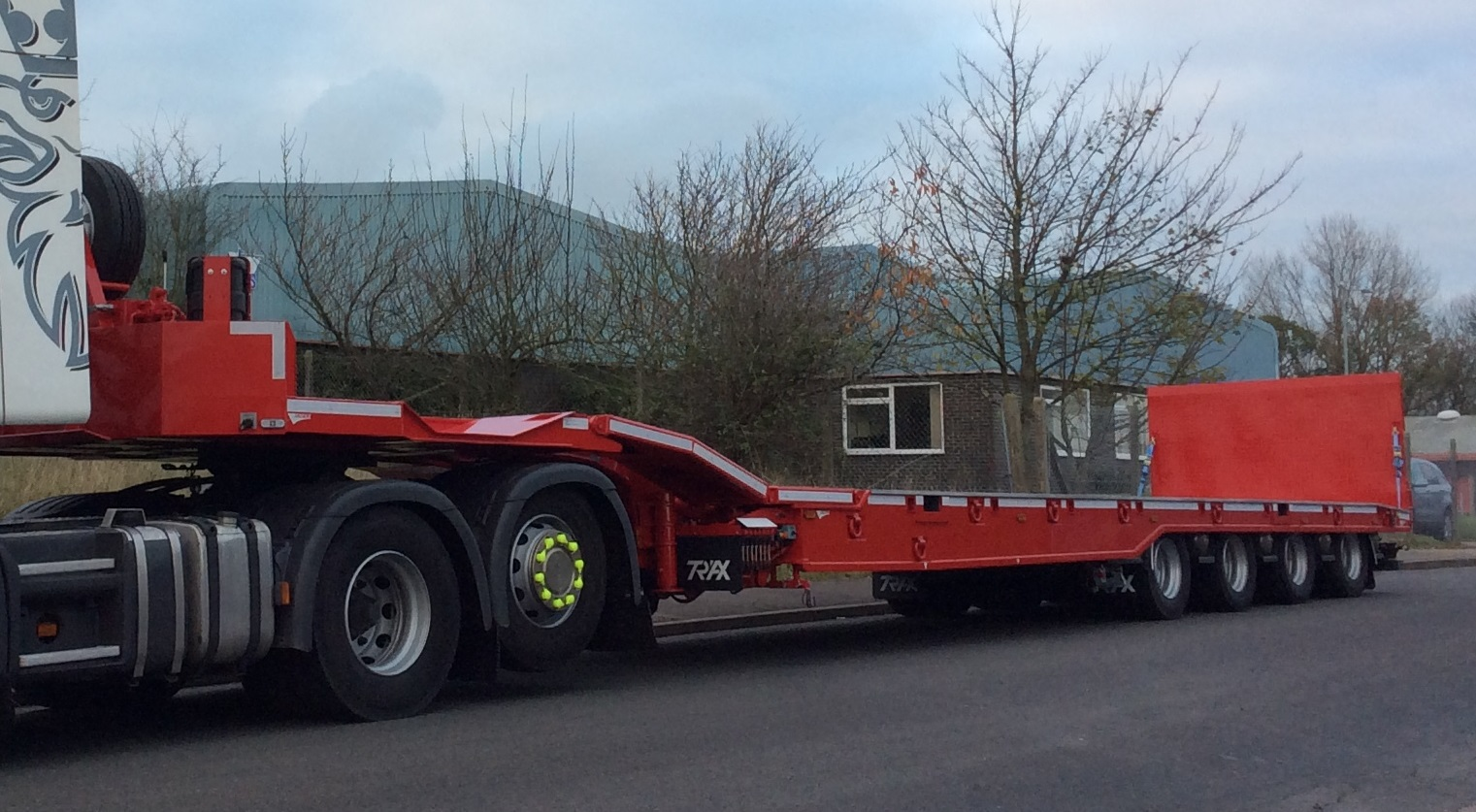 New stock 4 Axle Trailer