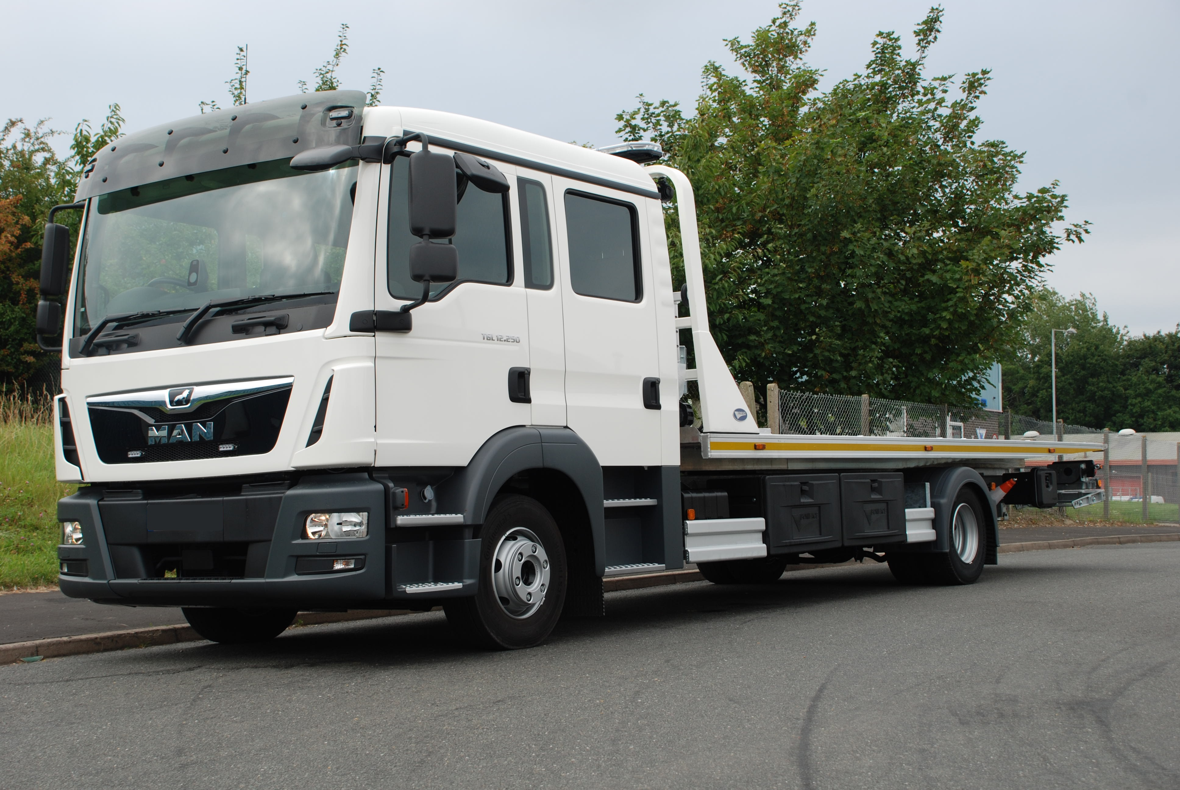 New stock New MAN Crew cab chassis