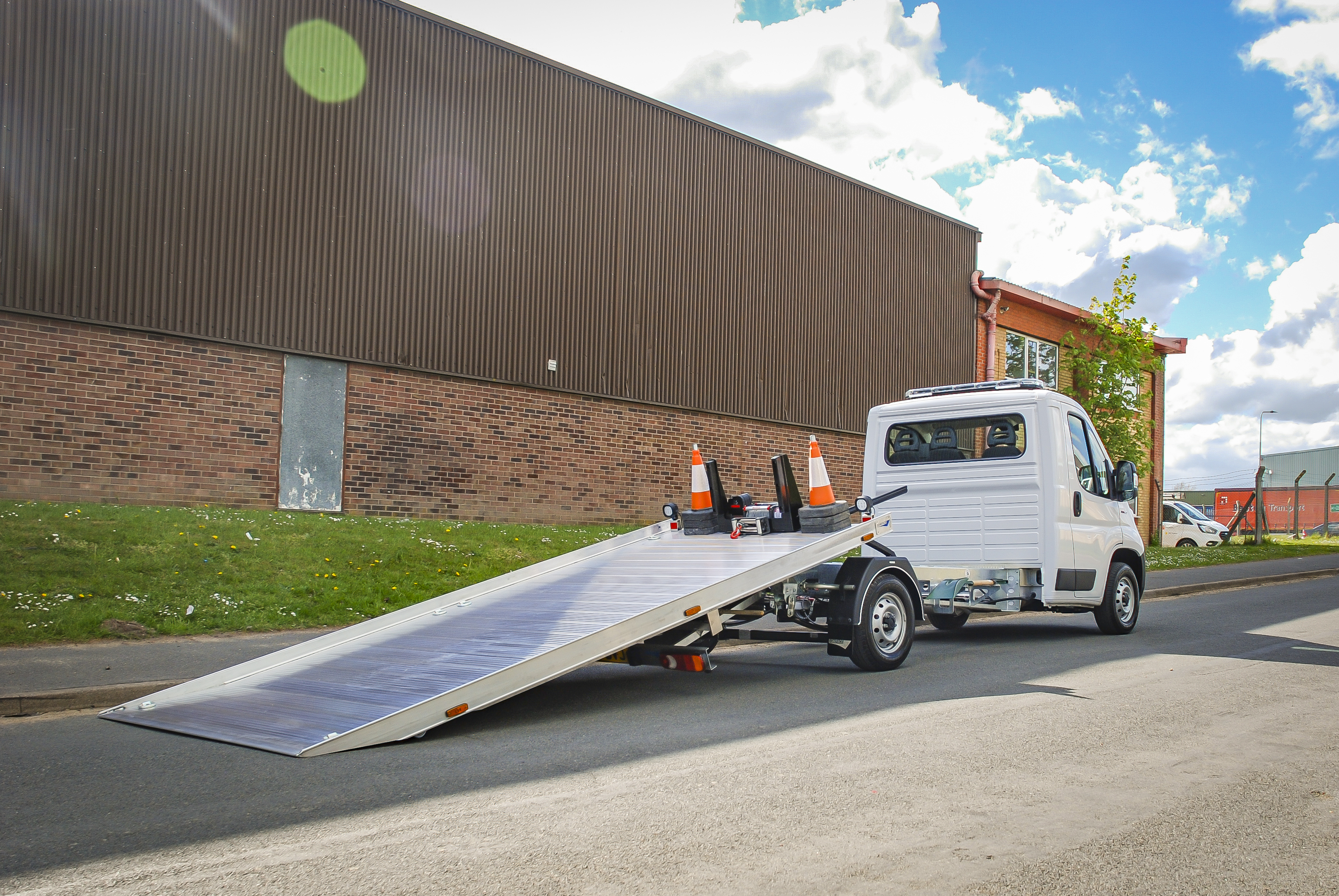New stock Fiat Ducato with T35 Transporter