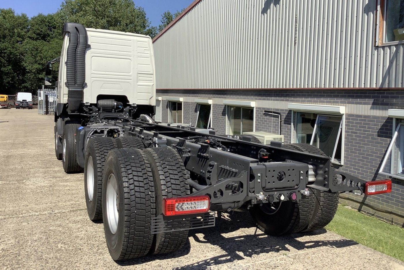 New stock Volvo FMX 540 Globetrotter 8x4 chassis