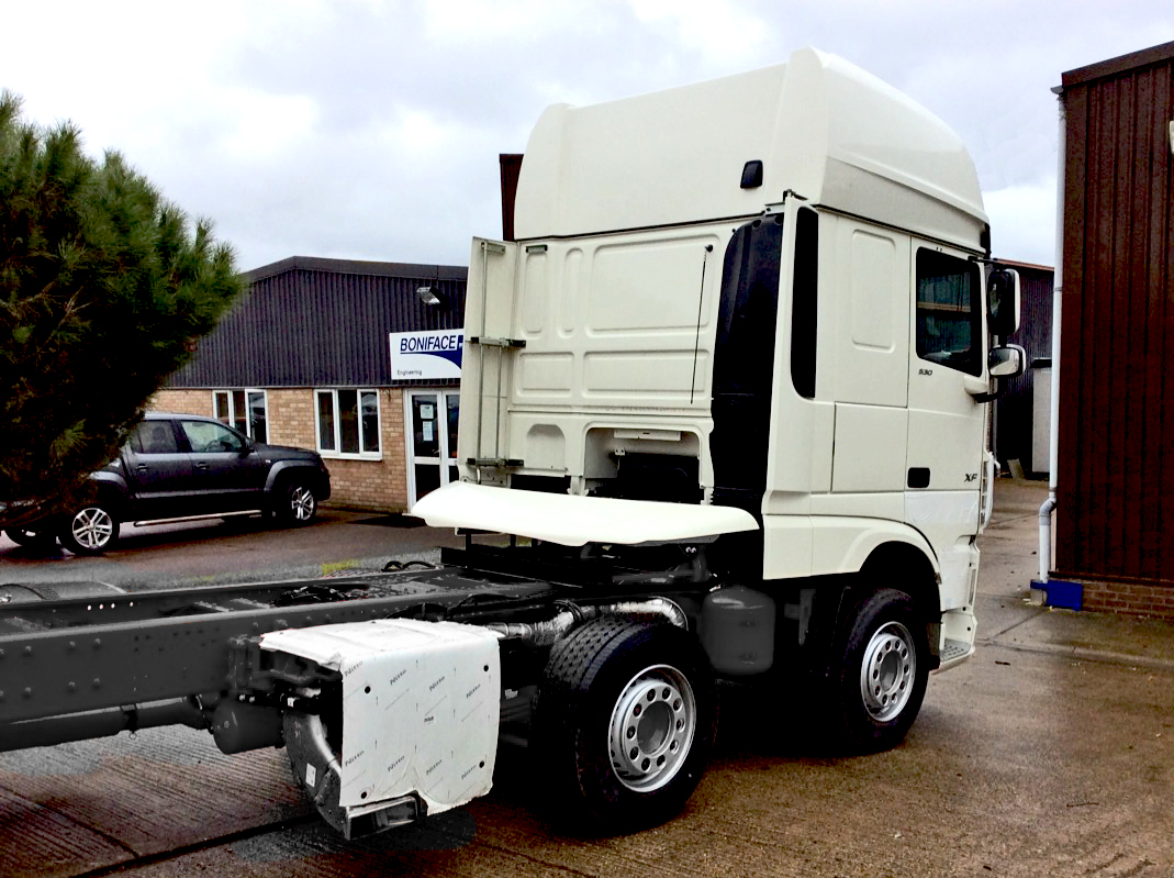 New stock DAF 8x4 chassis